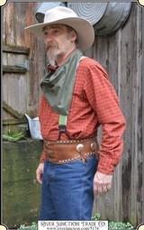 Studded Bronc Belt With Conchos RJT#5174 -$295.00
