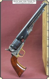 1860 Army .44 cal Revolver - Blued finish Made by Uberti.