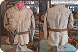 Original Indian tanned Frontiersman's Shield Front Shirt. Museum Quality - 3 of 14
