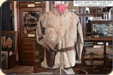 Original Indian tanned Frontiersman's Shield Front Shirt. Museum Quality - 2 of 14