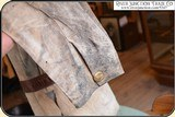 Original Indian tanned Frontiersman's Shield Front Shirt. Museum Quality - 10 of 14