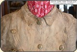 Original Indian tanned Frontiersman's Shield Front Shirt. Museum Quality - 5 of 14