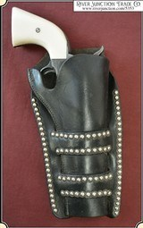 Double Loop spotted Holster By H H Heiser