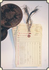 Original Railway Express Agency Shipping Tag. RJT#2224 -
