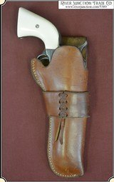 Holster - Lawrence Right hand holster for Colt Single Action 4 3/4 or 5 1/2 inch barrel