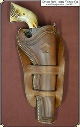 "Traditional Cheyenne holster styling for 7 1/2"" barrel"