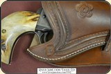 """Traditional Cheyenne holster styling for 7 1/2"""" barrel - 5 of 7"""