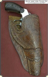 A FINE Vintage Catalog Holster For S&W DA Frontier or New Model 3 S&W and some Colts