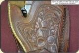 Hand tooled Vintage Montana Holster - 6 of 12