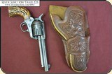 Hand tooled Vintage Montana Holster - 4 of 12
