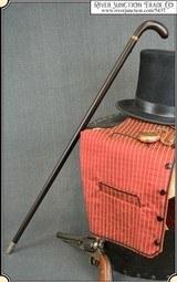 Rare Remington percussion cane gun