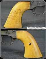 Antique Mammoth Ivory 1st Gen. Colt SA Grips