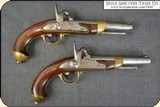 Pair of Civil War French Pistols Use by the Confederacy - 2 of 25