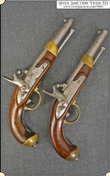 Pair of Civil War French Pistols Use by the Confederacy - 1 of 25