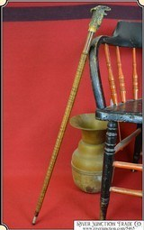 One of a kind folk art sword cane