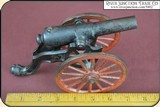 Antique Old US Copper Cast Iron Black Powder Signal Cannon - 12 of 14