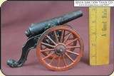 Antique Old US Copper Cast Iron Black Powder Signal Cannon - 11 of 14