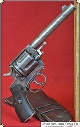Antique .44-40 Frontier Army Revolver with original Antique holster