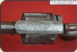 Antique Frontier Army Revolver with original Antique holster - 11 of 16