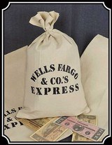 Wells Fargo Money Bag RJT#600 -$12.00 - 1 of 2