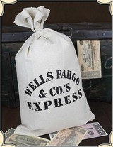 Wells Fargo Money Bag - Five Pack RJT#5222 -