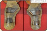 """Double gun holster rig for a pair of 5 1/2"""" or 4 3/4"""" inch Colt SAA - 10 of 12"""