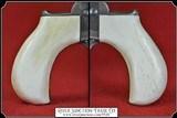 Colt Lightning & Thunderer Grips ~ Hand made Bone one piece Grips RJT#5528 $330.00 - 2 of 5