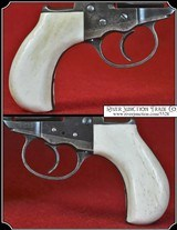 Colt Lightning & Thunderer Grips ~ Hand made Bone one piece Grips RJT#5528 $330.00
