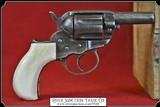 Colt Lightning & Thunderer Grips ~ Hand made Bone one piece Grips RJT#5528 $330.00 - 4 of 5