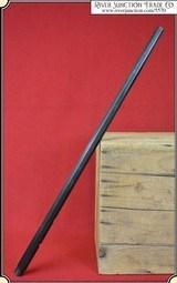 Original Winchester barrel for a Model 1885 High Wall .32-40.