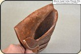 Hand tooled Holster - Mexican Double Loop Holster Copied from original in the River Junction Collection - 10 of 10