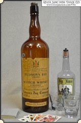1 GAL. Hudson's Bay Scotch Whisky Bottle