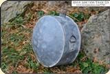 Original Confederate or Cowboy, Line Rider Tin Drum Canteen - 3 of 15