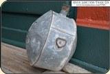 Original Confederate or Cowboy, Line Rider Tin Drum Canteen - 4 of 15