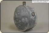 Original Confederate or Cowboy, Line Rider Tin Drum Canteen - 10 of 15