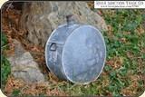 Original Confederate or Cowboy, Line Rider Tin Drum Canteen - 2 of 15