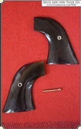 Ruger Grips ~ Hand made Buffalo Horn two piece Grips RJT#5847
