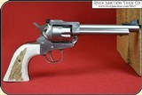 New Vaquero, Ruger Grips ~ Hand made Elk Horn w/bark two piece Grips RJT#5863 - 8 of 13