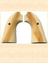 Grips ~ Ruger Bisley model - Antique Ivory color RJT#5796