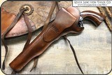 Colt and Remington holster- Plain SAA 7-1/2 and 8 inch. barrel - 3 of 6
