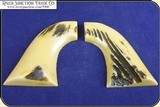 Grips ~ Model 1873 SAA - Pietta Antiqued Stag #5900 - 3 of 4