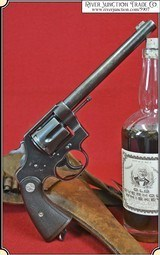 Colt New Service .38-40 with W.S. Brown Original holster
