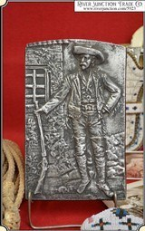 (Make Offer) Antique Casting of Buffalo Bill Cody (Very Rare)