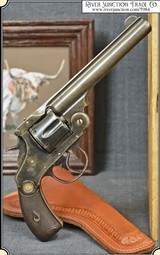 Copy of a Smith & Wesson Double Action Frontier .44 Russian