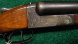 ITHACA 4E DOUBLE BARREL 12 GAUGE SHOTGUN - 1 of 14