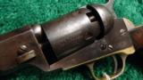 EXTREMELY RARE 1849 WELLS FARGO PERCUSSION PISTOL - 1 of 11