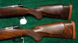PAIR OF WINCHESTER MODEL 70XTR FACTORY ENGRAVED SUPER GRADE RIFLES - 11 of 14