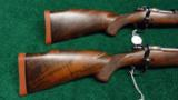 PAIR OF WINCHESTER MODEL 70XTR FACTORY ENGRAVED SUPER GRADE RIFLES - 12 of 14