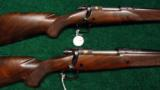 PAIR OF WINCHESTER MODEL 70XTR FACTORY ENGRAVED SUPER GRADE RIFLES - 1 of 14