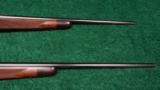 PAIR OF WINCHESTER MODEL 70XTR FACTORY ENGRAVED SUPER GRADE RIFLES - 4 of 14